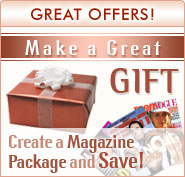 ** Magazine Subscription Gift **